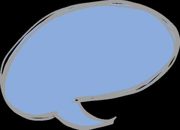 Sprechblase als Hintergrund